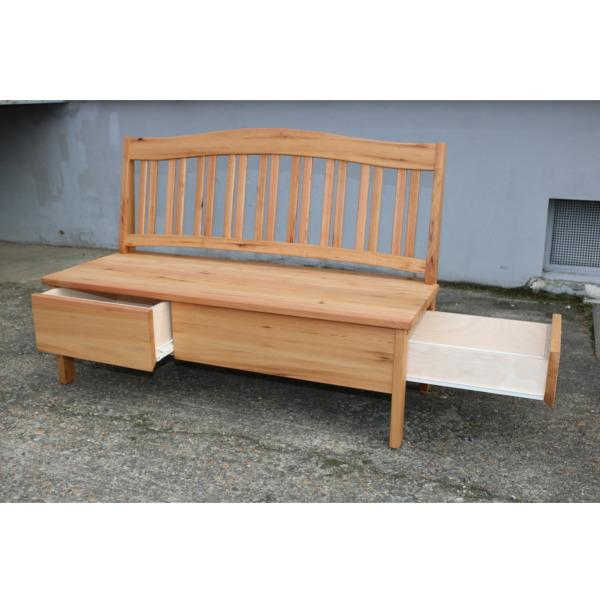 Sitzbank in Rüster mit Schubladen