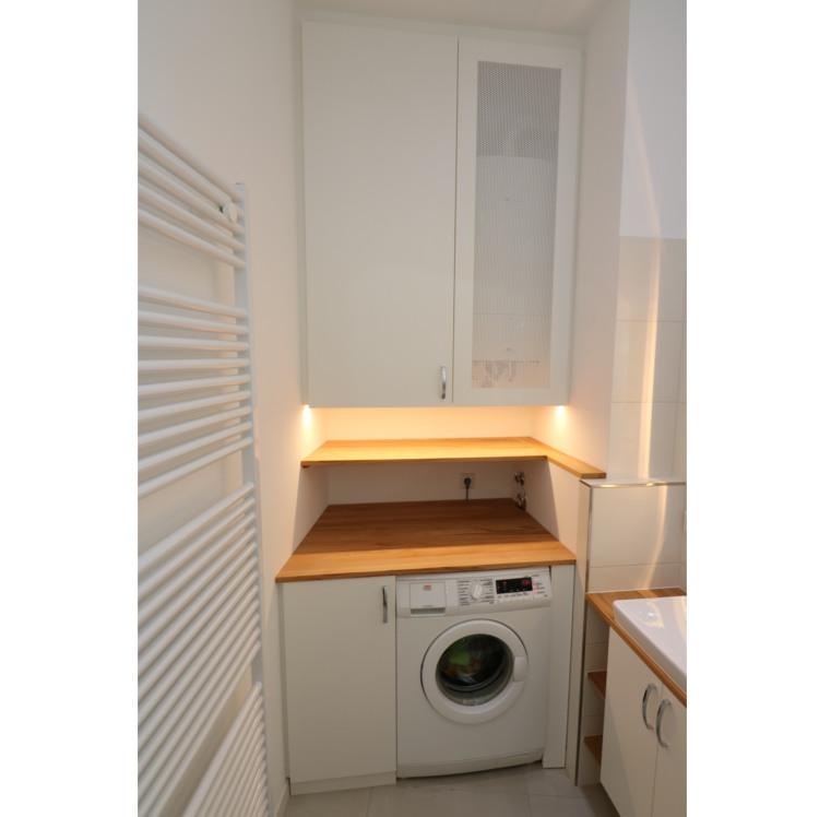 Einbau von Gasterme und Waschmaschine
