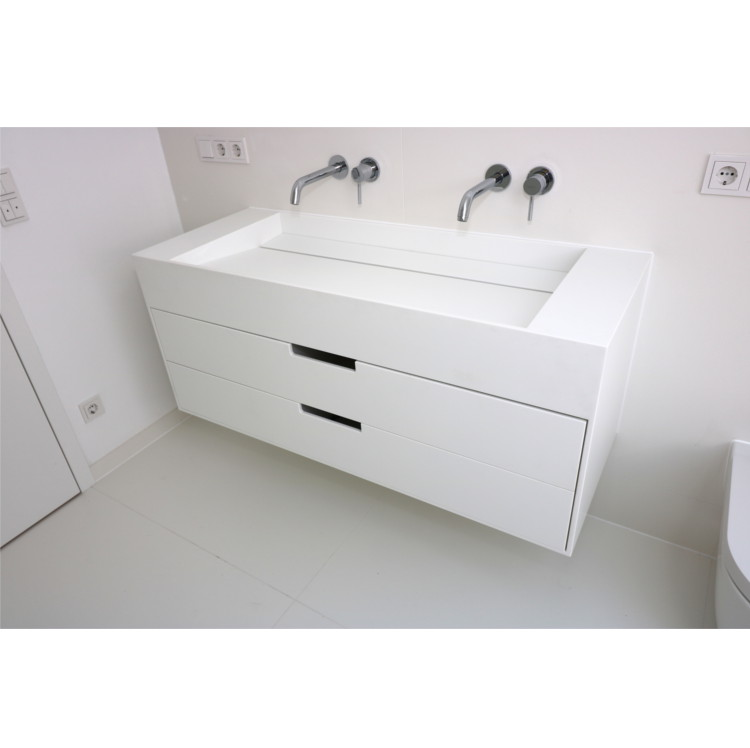 Waschtisch aus Corian