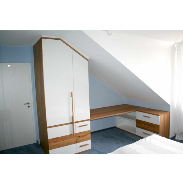 Büroecke im Schlafzimmer