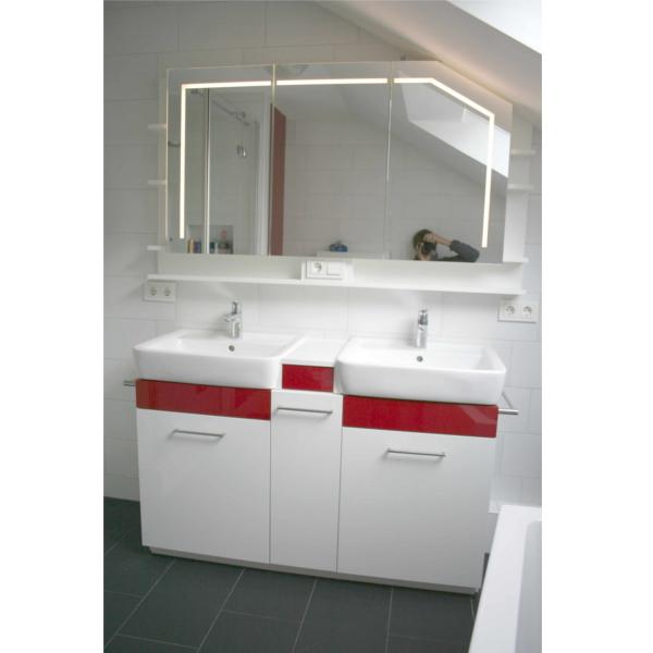 Badmöbel mit Spiegelschrank incl. Beleuchtung
